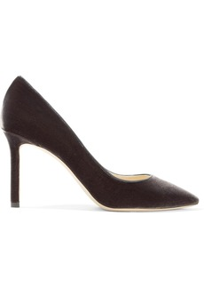 Jimmy Choo Romy 85 velvet pumps