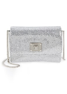 Jimmy Choo 'Ruby' Glitter Clutch