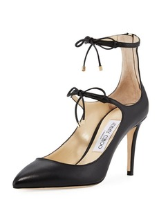 Jimmy Choo Sage Mary Jane Leather Pump