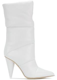 Jimmy Choo Sara 100 boots - White