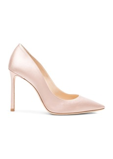 Jimmy Choo Romy 100 Satin Pumps