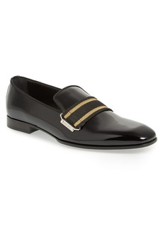 Jimmy Choo Saul Webbed Venetian Loafer (Men)
