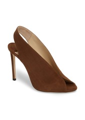 Jimmy Choo Shar Peep Toe Slingback Pump (Women)