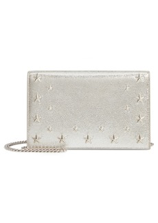 Jimmy Choo Sky Leather Crossbody Bag