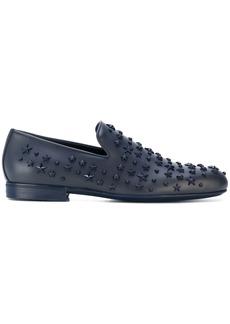 Jimmy Choo Sloane star slippers - Blue