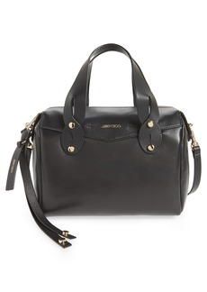Jimmy Choo Small Allie Nappa Leather Bowling Bag