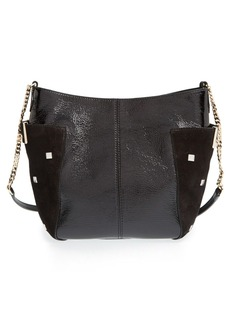 Jimmy Choo 'Small Anabel' Crinkled Patent Leather Crossbody Bag