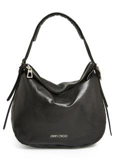 Jimmy Choo 'Small Boho' Leather Hobo