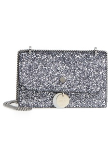 Jimmy Choo Small Finley Star Glitter Shoulder Bag