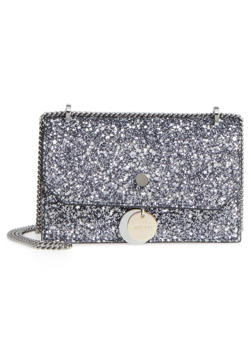 bc0a45ff0e7 Jimmy Choo Jimmy Choo Small Finley Star Glitter Shoulder Bag | Handbags