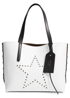 Jimmy Choo Star Studded Leather Tote