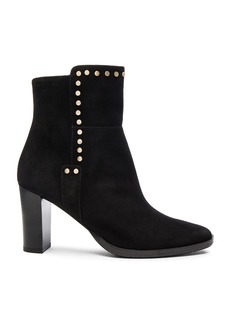Jimmy Choo Harlow 80 Suede Booties