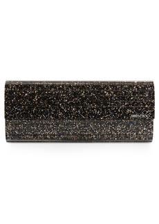 Jimmy Choo Sweetie Speckled Glitter Clutch