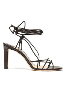 Jimmy Choo Tao 85 wrap-around leather sandals