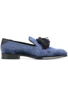 Jimmy Choo tassel slippers - Blue