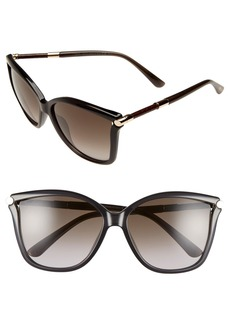 Jimmy Choo 'Tattis' 58mm Sunglasses