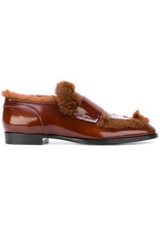 Jimmy Choo Tedi loafers - Brown