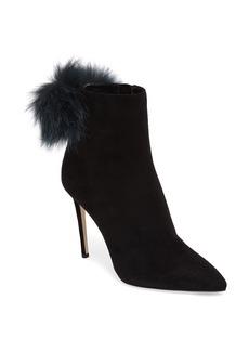 Jimmy Choo Tesler Genuine Fox Fur Bootie (Women)