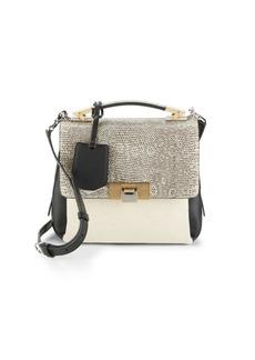 Balenciaga Textured Shoulder Bag