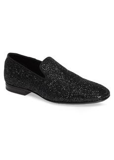 Jimmy Choo Thame Glitter Venetian Loafer (Men)
