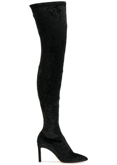 Jimmy Choo thigh-length boots - Black