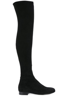 Jimmy Choo thigh length boots - Black
