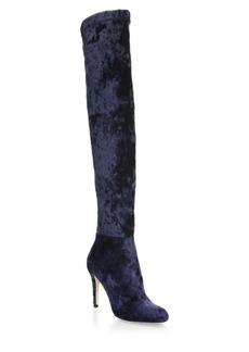 Jimmy Choo Toni 90 Velvet Over-The-Knee Boots
