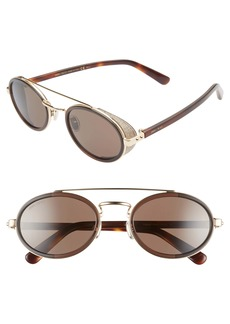 Jimmy Choo Tonies 51mm Round Sunglasses