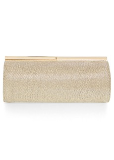 Jimmy Choo 'Trinket' Glitter Mesh Clutch