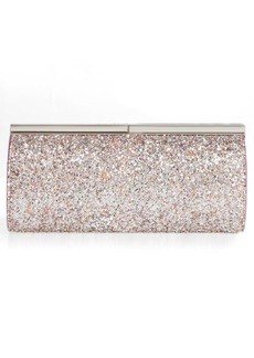 Jimmy Choo Trinket Speckled Glitter Clutch