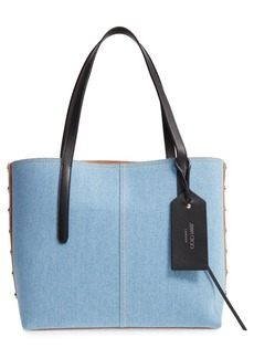 Jimmy Choo Twist East West Denim Tote