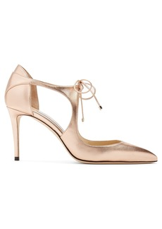 Jimmy Choo Vanessa 85 leather pumps