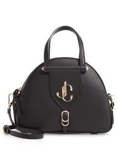 Jimmy Choo Varenne Leather Bowling Bag