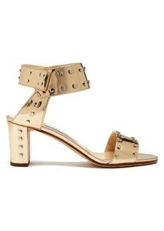 Jimmy Choo Veto 65mm studded leather sandals