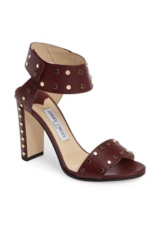 Jimmy Choo Veto Studded Ankle Cuff Sandal (Women)