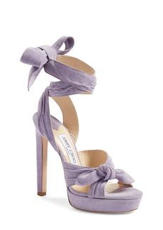 Jimmy Choo 'Vixen' Wraparound Platform Sandal (Women)