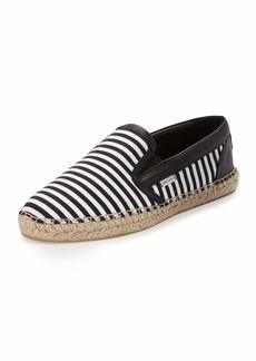 Jimmy Choo Vlad Men's Striped Espadrille Slip-On Sneaker
