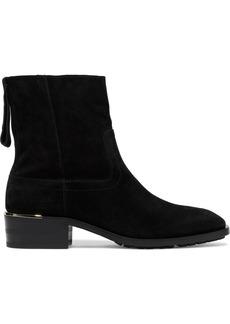 Jimmy Choo Woman Halbert Suede Ankle Boots Black