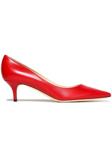 Jimmy Choo Woman Love 55 Leather Pumps Red