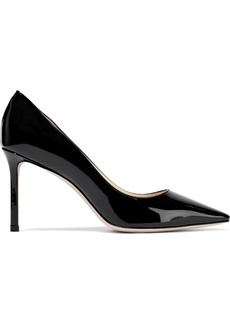 Jimmy Choo Woman Romy 85 Patent-leather Pumps Black