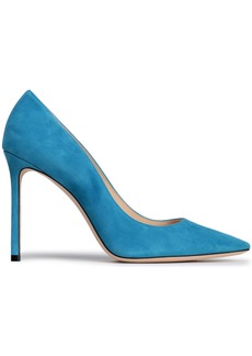 Jimmy Choo Woman Suede Pumps Azure