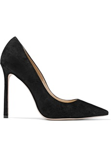 Jimmy Choo Woman Suede Pumps Black