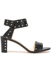 Jimmy Choo Woman Veto 65 Studded Leather Sandals Black