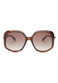 Jimmy Choo Women's Amada Square Sunglasses, 56mm