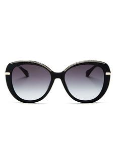 Jimmy Choo Women's Butterfly Sunglasses, 56mm