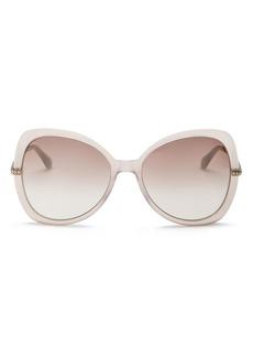 ca53266a5e1 Jimmy Choo Women s Cruz Mirrored Butterfly Sunglasses