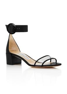 Jimmy Choo Women's Jaimie 40 Block Heel Sandals