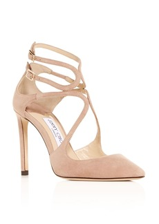 Jimmy Choo Women's Lancer 100 Pointed-Toe Pumps