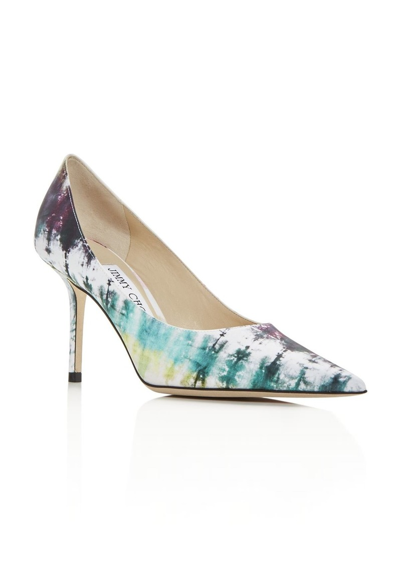 Jimmy Choo Women's Love 85 Tie-Dye High-Heel Pumps