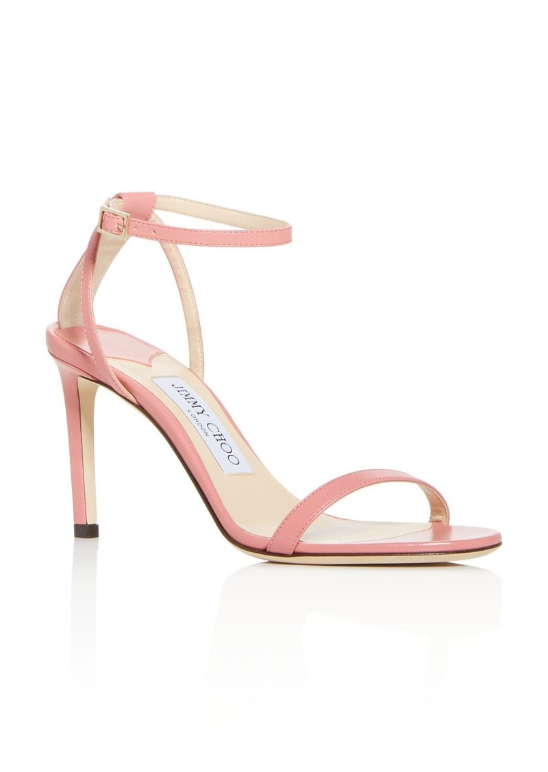 Jimmy Choo Women's Minny 85 High-Heel Sandals